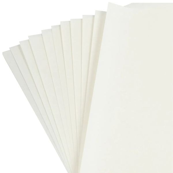 Papier Origami pour lanterne - Blanc -30 x 30 cm - 12 feuilles - Photo n°3