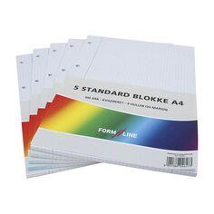 Feuilles mobiles perforées A4 - Petits carreaux - 500 pages