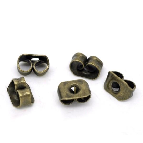 Embouts poussoirs métal bronze x 20 - Photo n°2