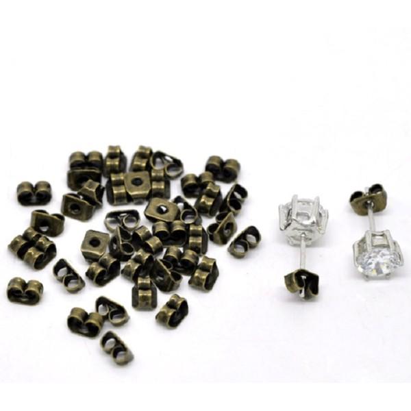 Embouts poussoirs métal bronze x 20 - Photo n°1