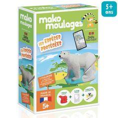 Mini Kit Créatif Moulage - Ours polaire