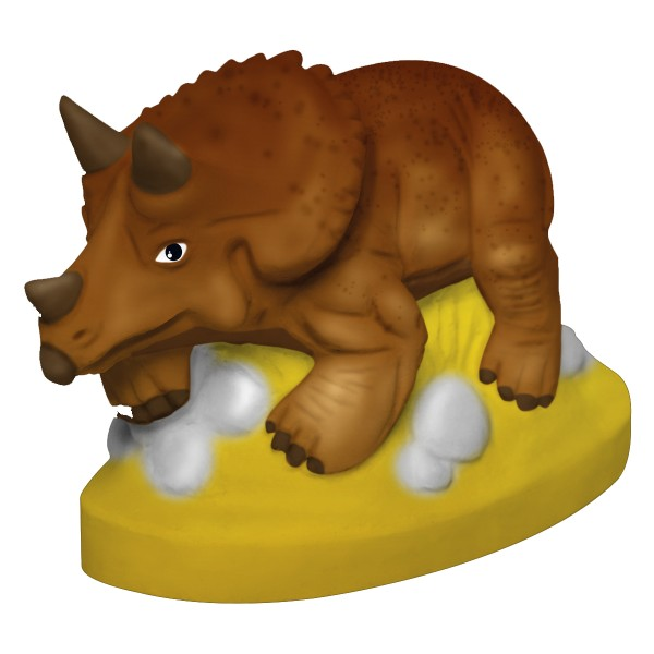 Mini Kit Créatif Moulage - Tricératops - Photo n°2