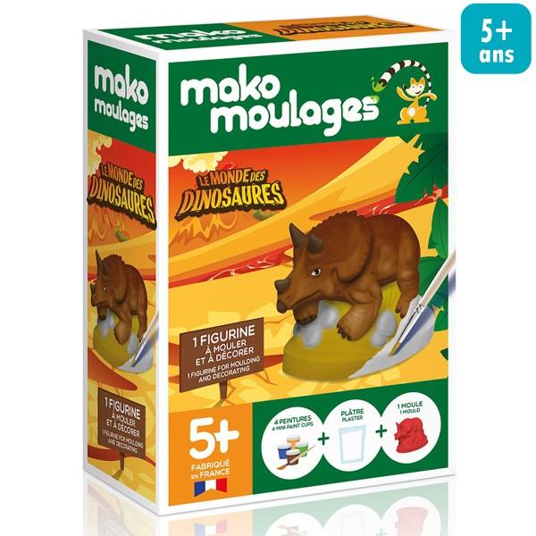 Mini Kit Créatif Moulage - Tricératops - Photo n°1