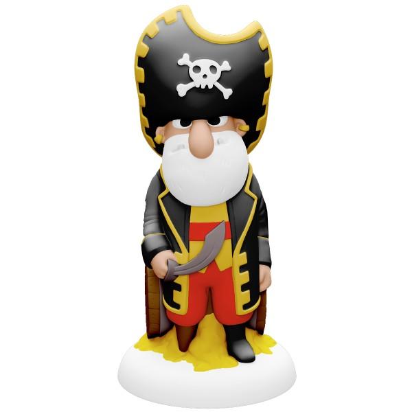 Coffret moulage en plâtre - Pirates à bord - 5 pcs - Photo n°4