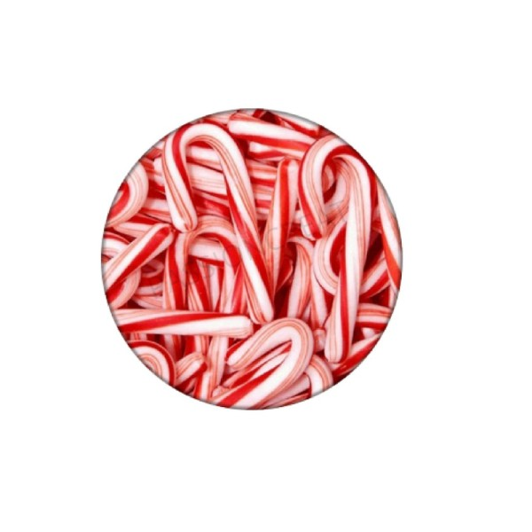Bonbons Canne à Sucres 2 Cabochons - Photo n°1