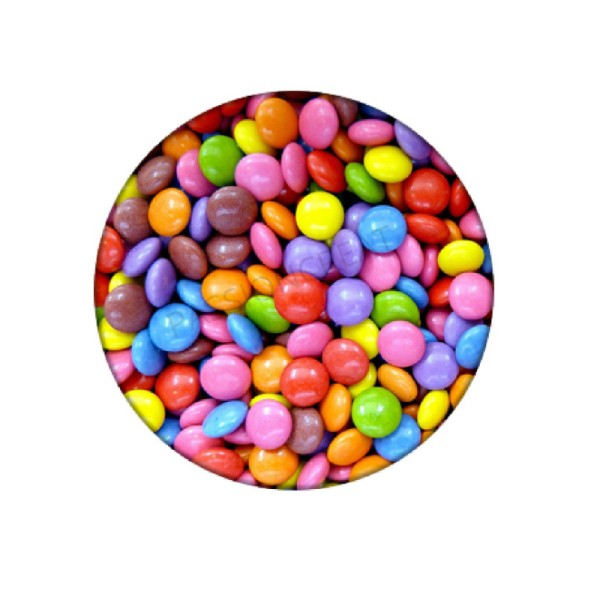 Bonbons Colorés 2 Cabochons - Photo n°1