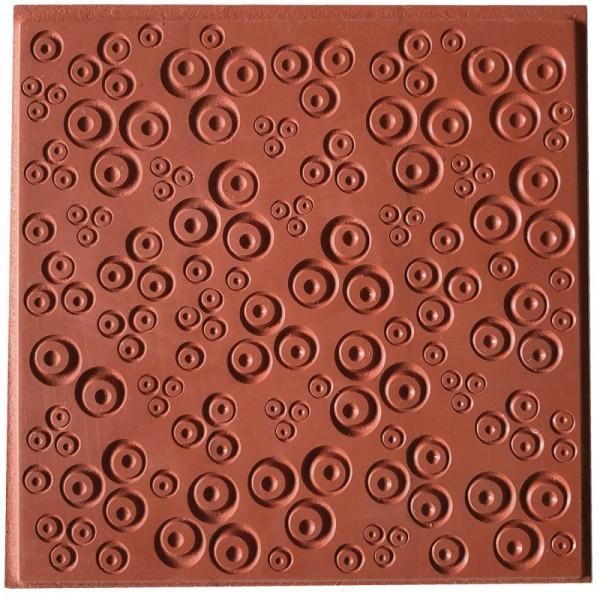 Plaque de Texture Contemporary Clovers pour Pate Fimo, Sculpey Cernit CE95027 - Photo n°1