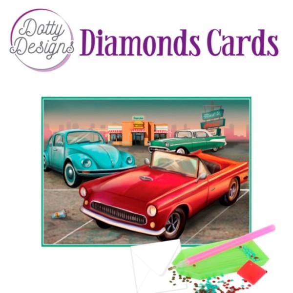 Dotty Designs Diamond Cards - Vintage Cars - Photo n°1