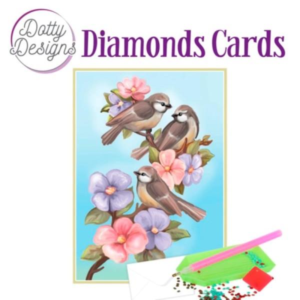 Dotty Designs Diamond Cards - Three Birds - Photo n°1
