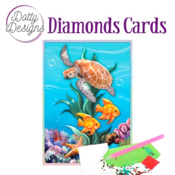 Dotty Designs Diamond Cards - Underwater World - Photo n°1