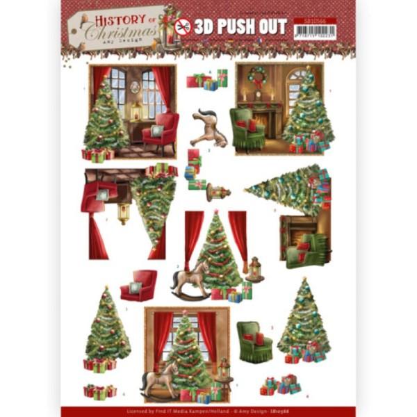 Carte 3D prédéc. - SB10566 - Histoire de Noël - Maison à Noël - Photo n°1