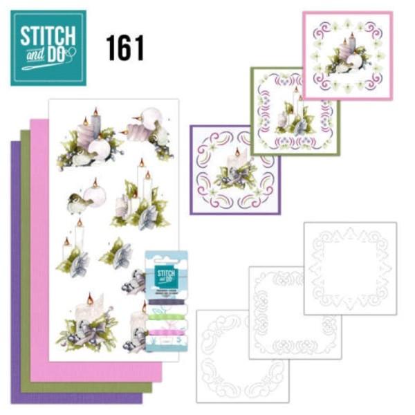 Stitch and do 161 - kit Carte 3D broderie - Le meilleur Noël de tous les temps - Photo n°1