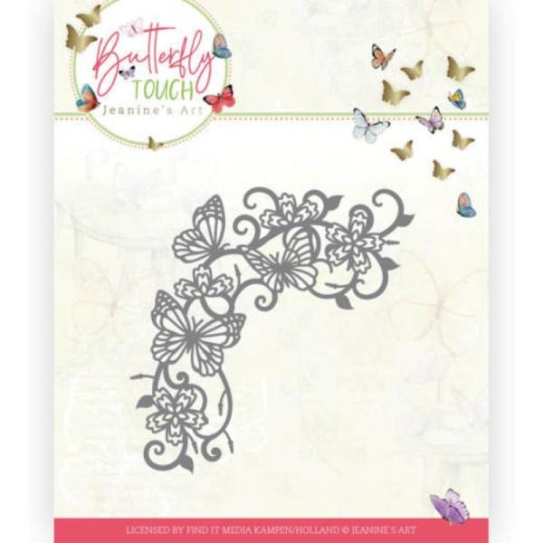 Die - Jeaninnes art - JAD10124 - Butterfly Touch - Tourbillons de papillons - Photo n°1