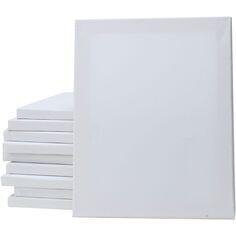 Châssis entoilés, blanc, prof. 1,8 cm, dim. 40x50 cm, 280 gr, 20 pièce/ 1 Pq.