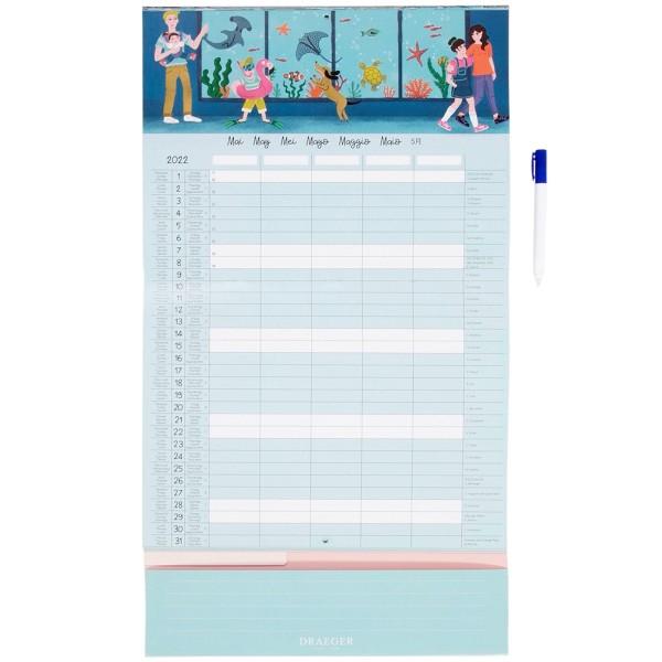 Calendrier Familial - L'organise tout - 28,5 x 28,5 cm - Photo n°2