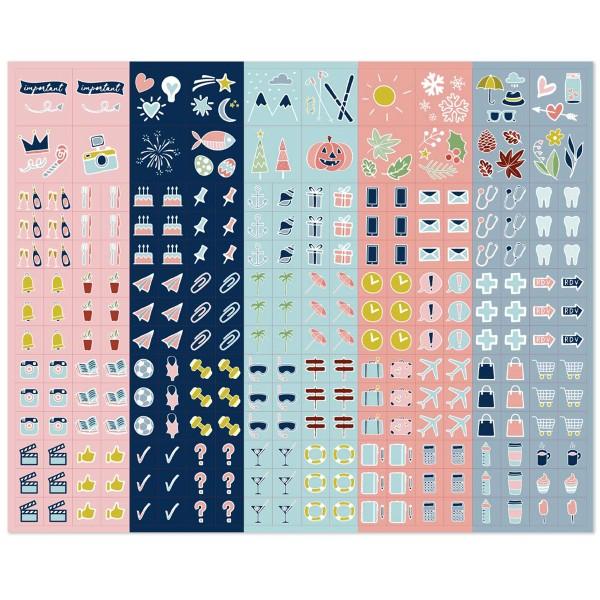 Calendrier Familial - L'organise tout - 28,5 x 28,5 cm - Photo n°6