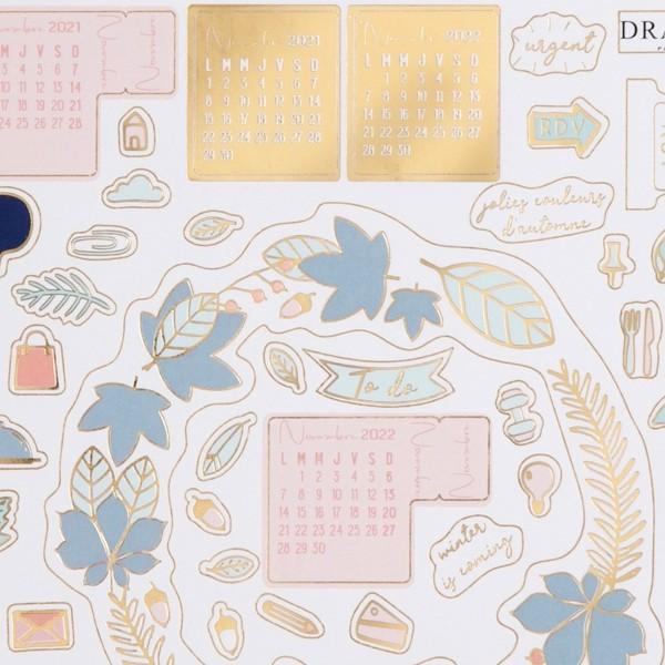 Stickers pour Agenda et Bullet Journal - 2021/2022 - 12 planches - Photo n°3