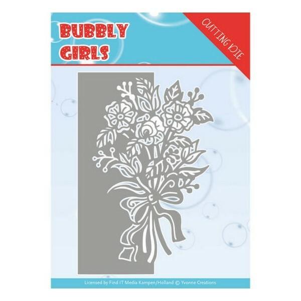 Die matrice de découpe embossage Yvonne Créations Bubbly Girls BOUQUET 10168 - Photo n°1