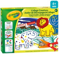 Kit Créatif enfant - Atelier Découpage et Collage
