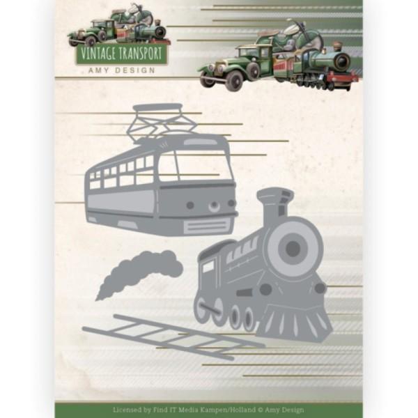Die - ADD10252 - Vintage Transport - Train - Photo n°1