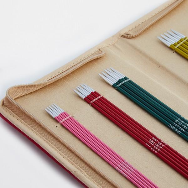 Set d'Aiguilles à Tricoter Doubles Pointes 20cm DPNS Zing KnitPro - Photo n°2