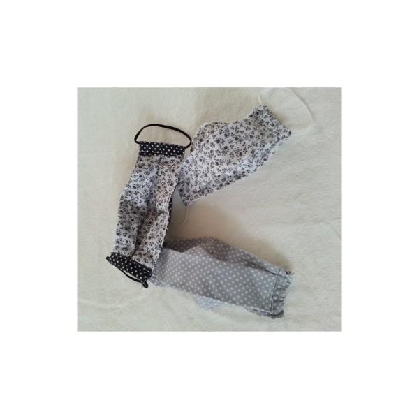 14 Pièces Coupons de Tissu Coton 21x21 cm pour Couture Patchwork Scrapbooking BGNR - Photo n°4