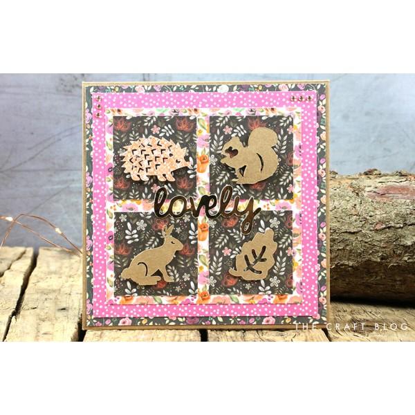 Album photo scrapbooking  Perfect Allusion - Floral vintage 30cm 12 pouces - Photo n°4