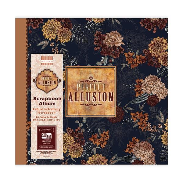 Album photo scrapbooking  Perfect Allusion - Floral vintage 30cm 12 pouces - Photo n°1