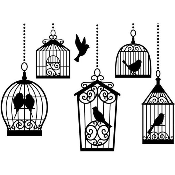 Die classeur d'embossage cages d'oiseaux Darice - Photo n°1