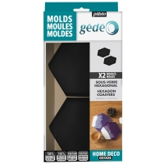 Moule en silicone - Hexagonal - 2 pcs