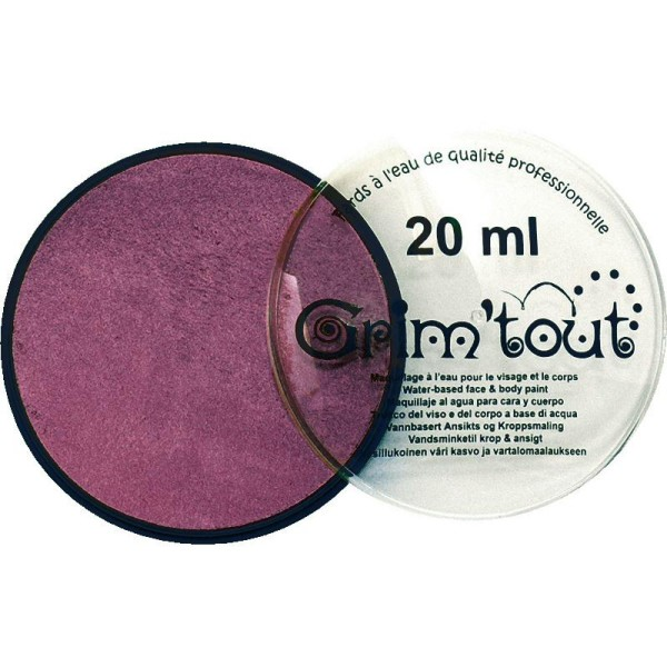 Maquillage professionnel Grim'tout Fard Lilas Galet 20 ml - Sans paraben - Photo n°1