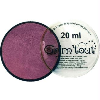 Maquillage professionnel Grim'tout Fard Lilas Galet 20 ml - Sans paraben