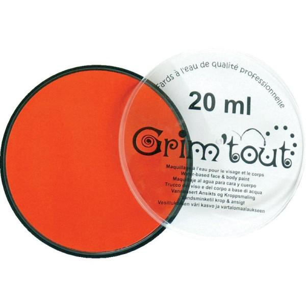 Maquillage professionnel Grim'tout Fard Mandarine Galet 20 ml - Sans paraben - Photo n°1