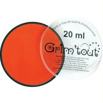 Maquillage professionnel Grim'tout Fard Mandarine Galet 20 ml - Sans paraben