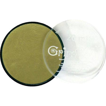 Maquillage professionnel Grim'tout Fard Or métallique Galet 20 ml - Sans paraben - Photo n°1