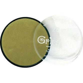 Maquillage professionnel Grim'tout Fard Or métallique Galet 20 ml - Sans paraben