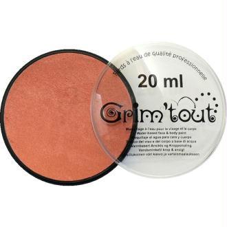 Maquillage professionnel Grim'tout Fard Cuivre métallique Galet 20 ml - Sans paraben