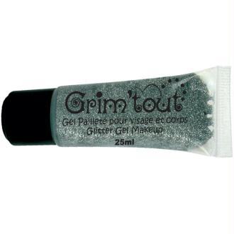 Maquillage Grim'tout Gel pailleté 25ml Argent - Sans paraben