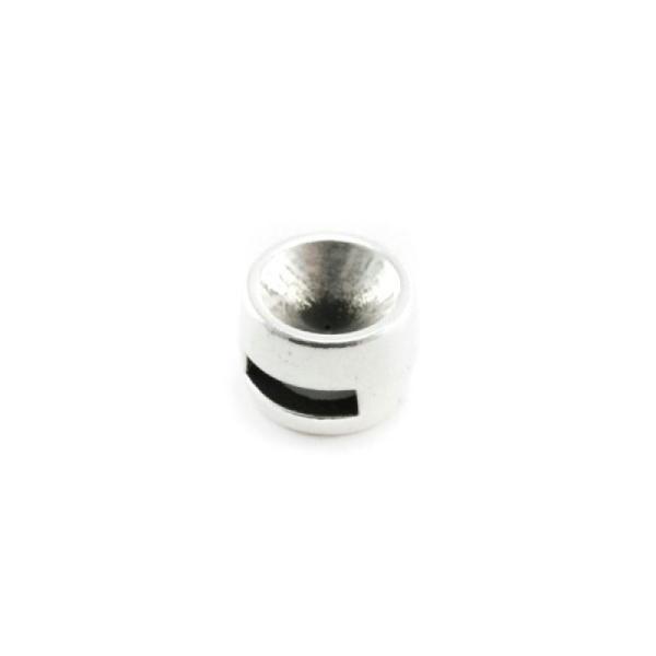 Passant pour lacet cordon cuir pour strass swarovski ss39 rond - Photo n°0 dc3bcc364eed