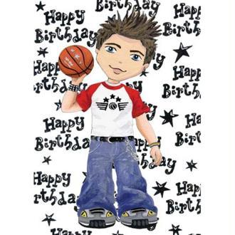 Image 3D Enfant - Ado garçon 24 x 30 cm