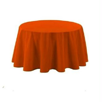 Nappe polyester orange