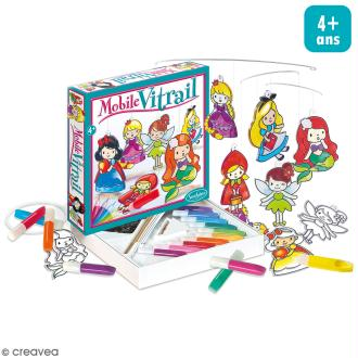 Kit mobile vitrail - Princesse