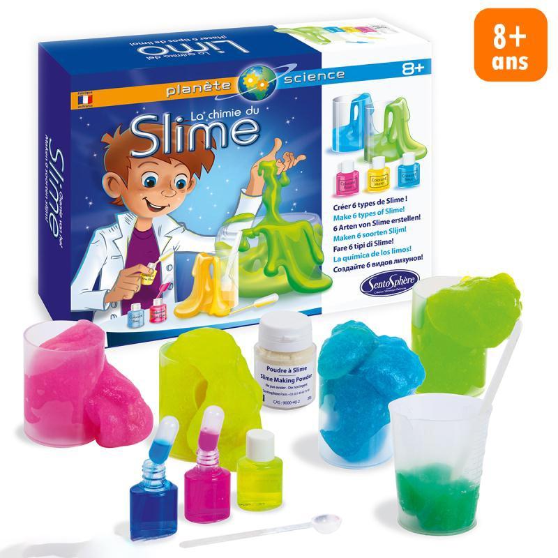 Kit La chimie du Slime - Photo n°1