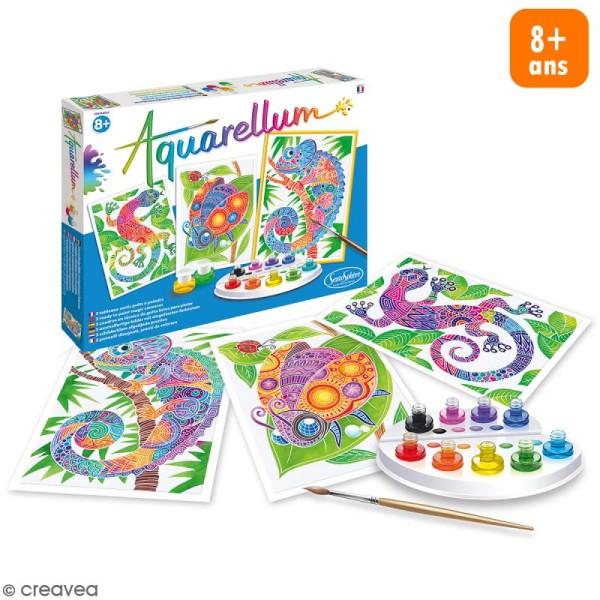 Jeu créatif Aquarellum - Zentangle - Photo n°1