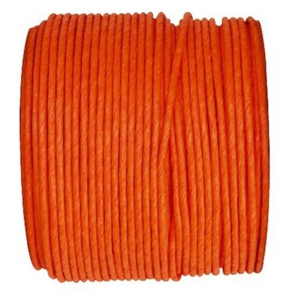 Paper Cord armé orange rouleau 20mètres - Photo n°1