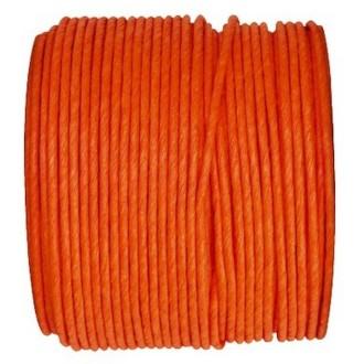Paper Cord armé orange rouleau 20mètres