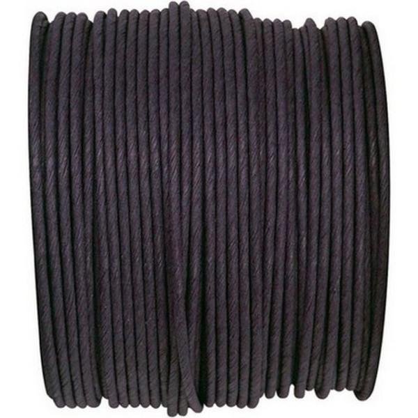 Paper Cord armé noir rouleau 20mètres - Photo n°1