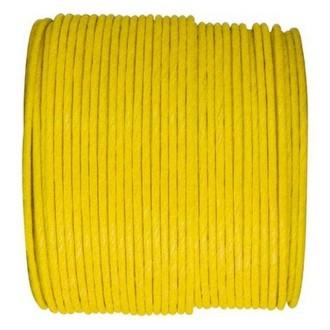 Paper Cord armé jaune rouleau 20mètres