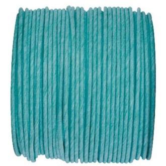 Paper Cord armé turquoise rouleau 20mètres