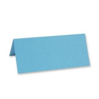 Marque place porte nom chevalet bleu turquoise x25
